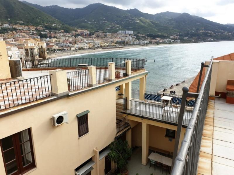 La più bella vista di Cefalù dalle terrazze hotel del Convento di Cefalù
