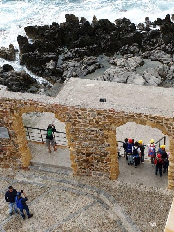 Vista dalla terrazza hotel Convento di Cefalù